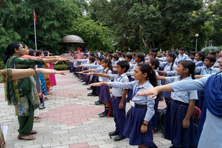 Government Model Senior Secondary School-Swachhta Oath