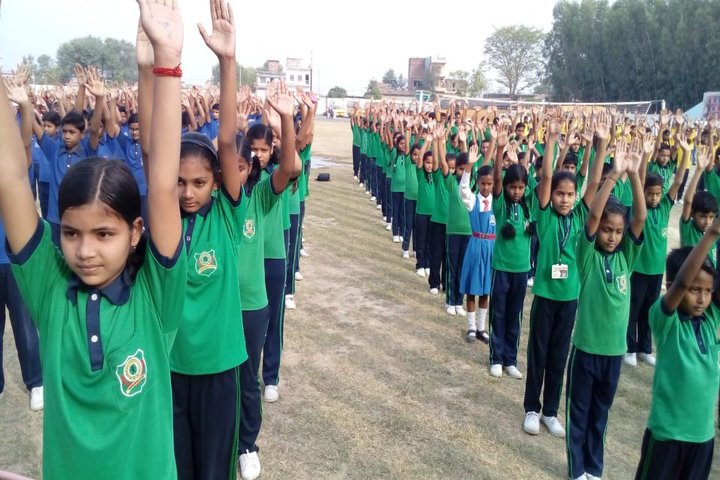 St Xaviers School-Physical Training