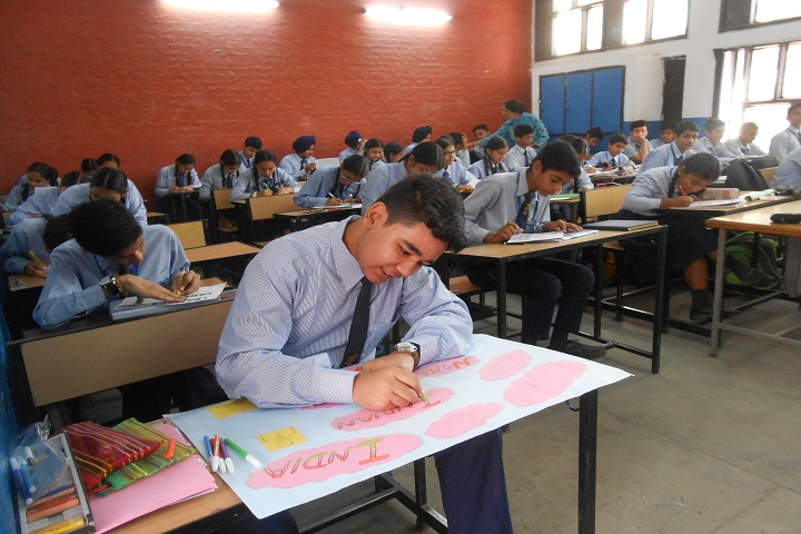 Government Model Senior Secondary School-Writing Competition
