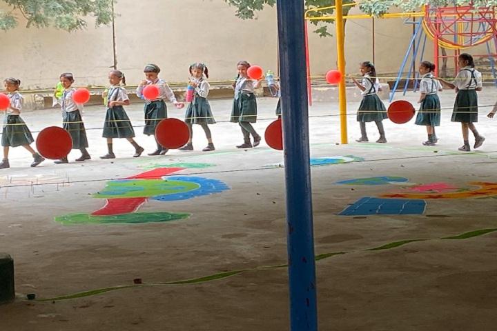 St Josephs English Medium School-Events rangoli