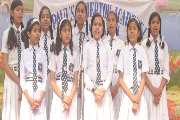 St Pauls Briton Academy-Singing