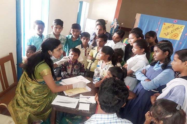 Stella Maris Convent Secondary School-Medical Checkup