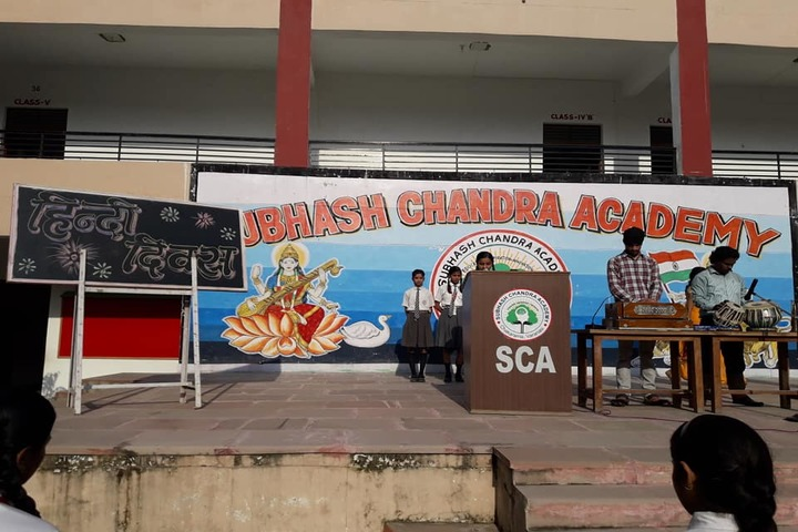 Subhash Chandra Academy-Hindi Diwas Celebration
