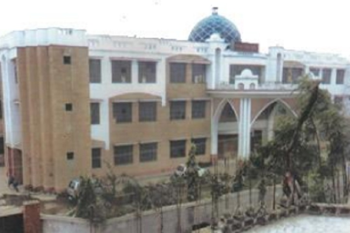 Subhash Public School-School building