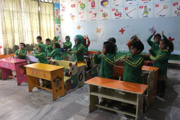 Suditi Global Academy-Kids Classroom