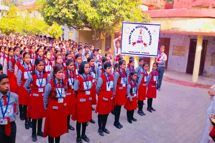 Sumitra Modern School-Assembly