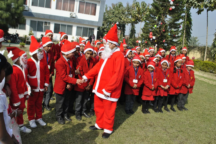 Sumitra Modern School-Christms Day
