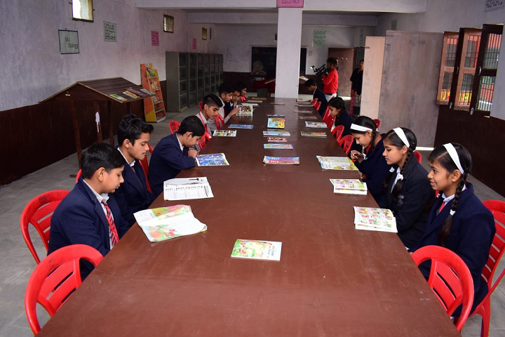 Sun Lord Public School-Reading Room