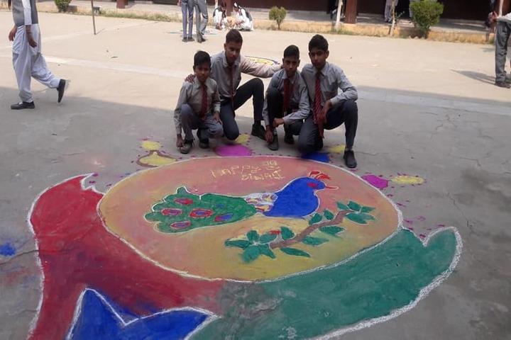 Sun Lord Public School-Rangoli Competition