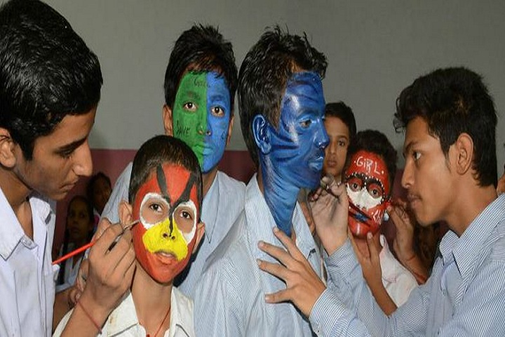 Government Model Senior Secondary School-Face Painting