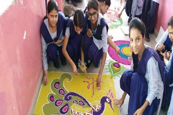 Government Model Senior Secondary School-Rangoli