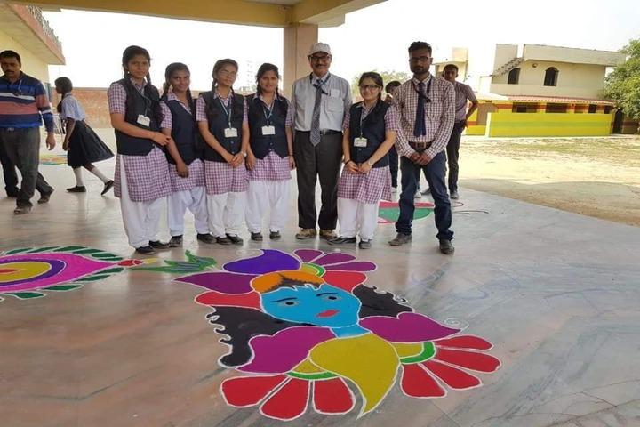Sun Valley Public School-Rangoli Competition