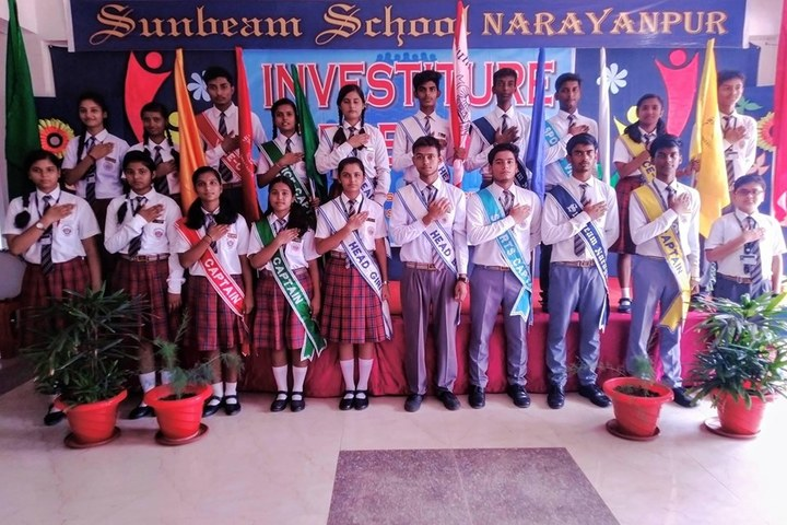 Sunbeam School-Investiture Ceremony