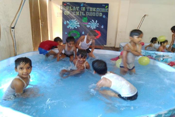 Sunbeam School-Pool Splash