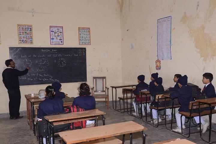 Suresh Chand Memorial Public School-Classroom