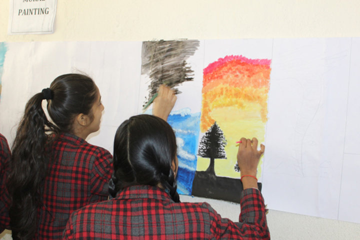 Surmount International School-Painting