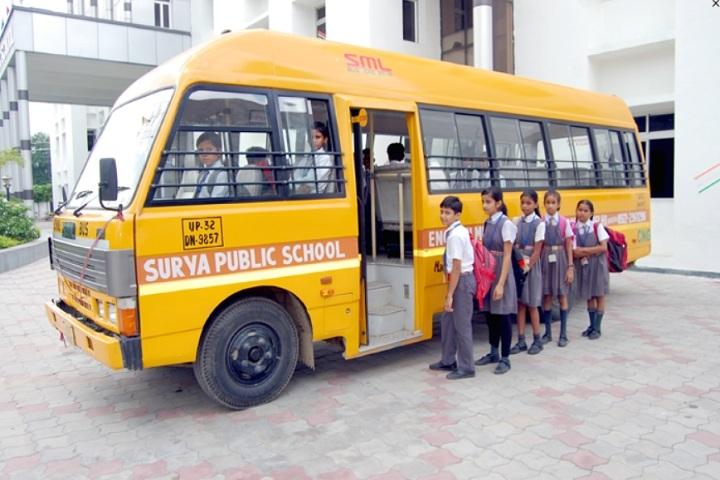 Surya Public School-Transport