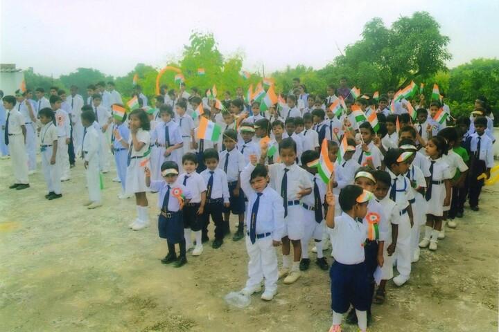 Suryabali Singh Public School-Independance Day