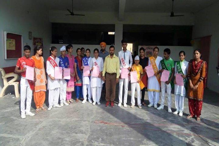 Swami Educational Public School-Investiture Ceremony