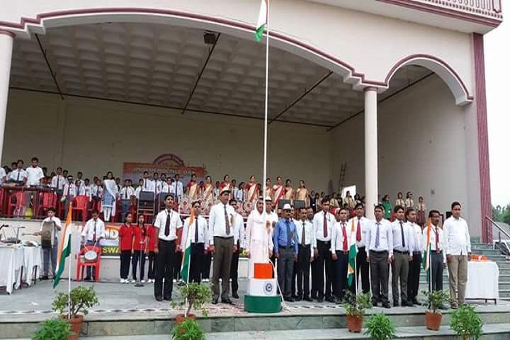 Swami Harsewanand Public School-Flag Hoisting
