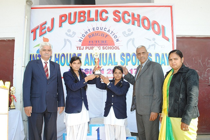 Tej Public School-Annual Sports Day
