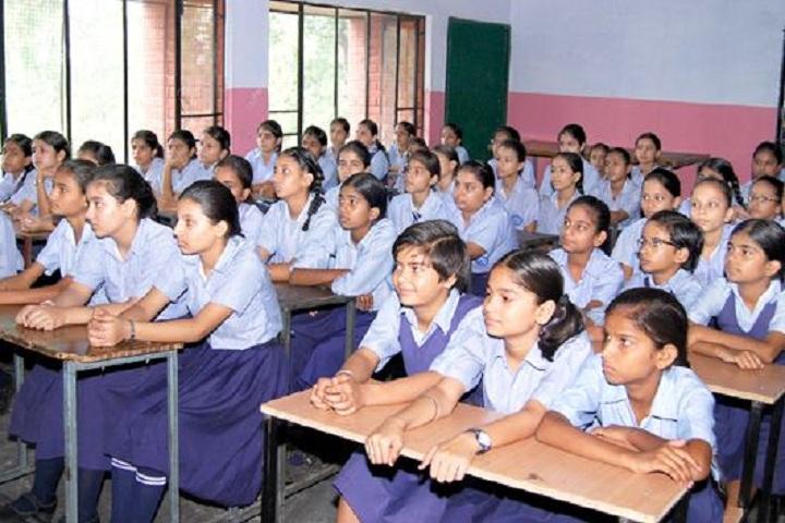 Government Model Senior Secondary School-Class Room