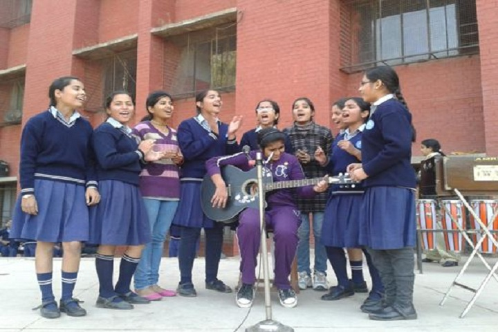 Government Model Senior Secondary School-Music Competition