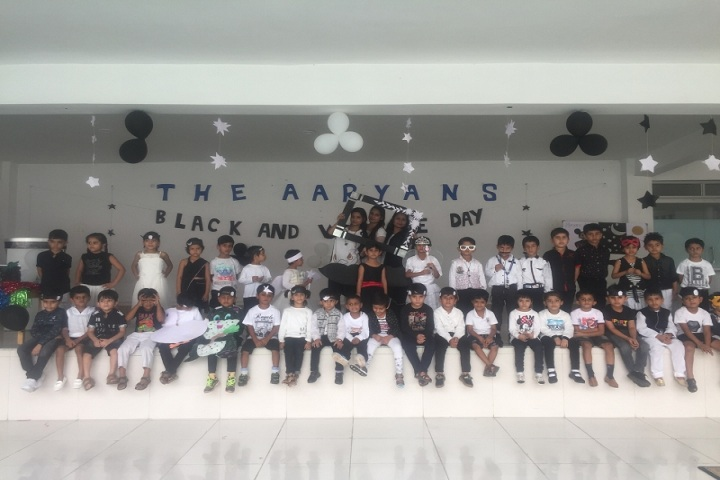 The Aaryans-Black and white day celebrations