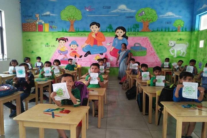 The Aaryans-Primary class room