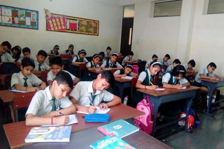 The Adhyyan School-Class room