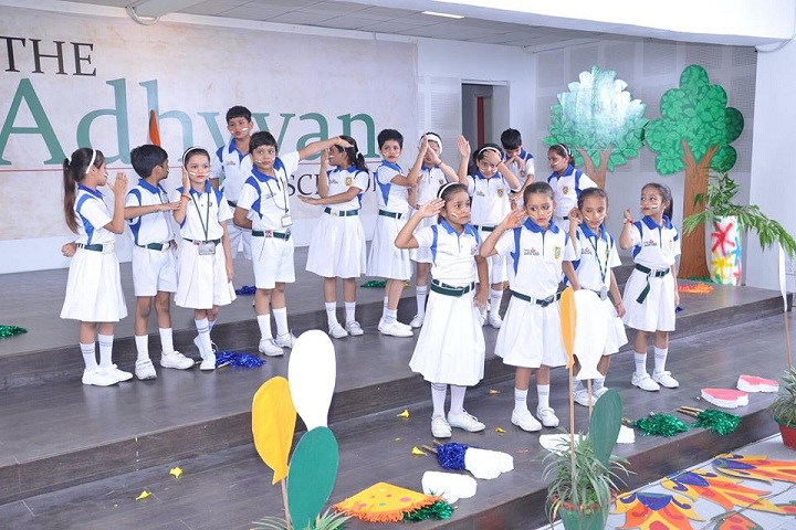 The Adhyyan School-Independance day celebrations