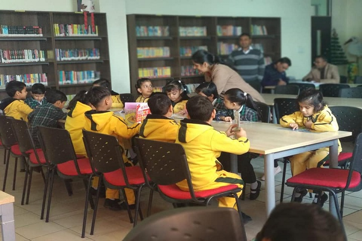 The Adhyyan School-Library