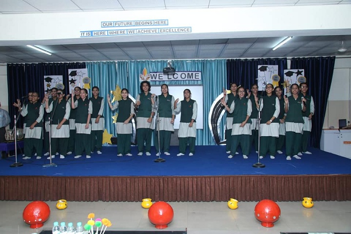 The Adhyyan School-Welcome party