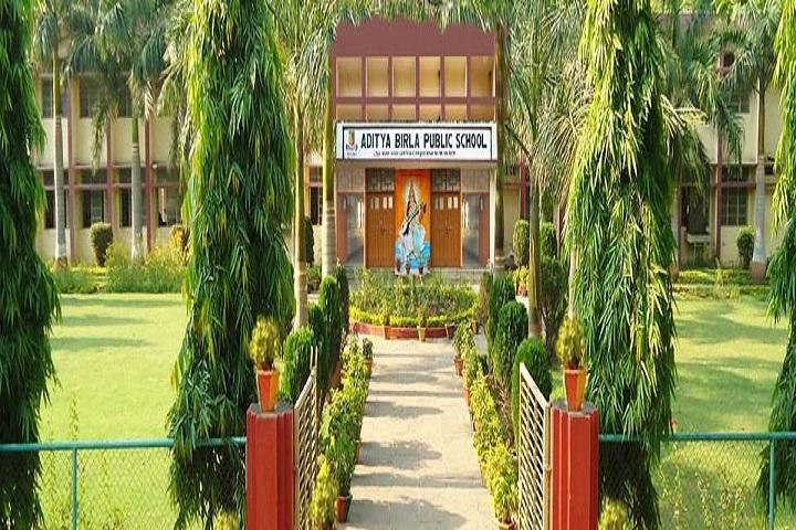 Aditya Birla Public School-School Entrance