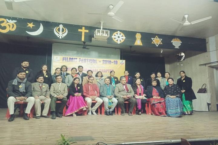The Aryan International School-Staff Group Photo
