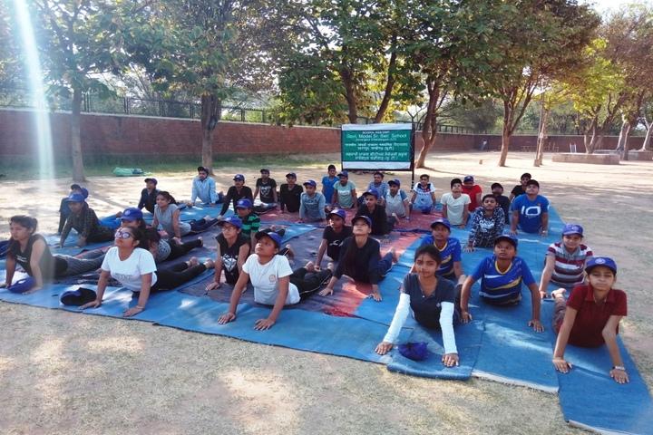 Government Model Senior Secondary School-Yoga