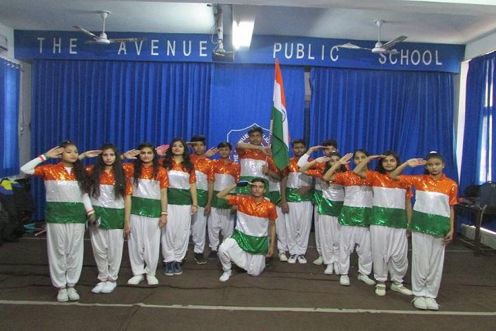 The Avenue Public School-Republic day celebrations
