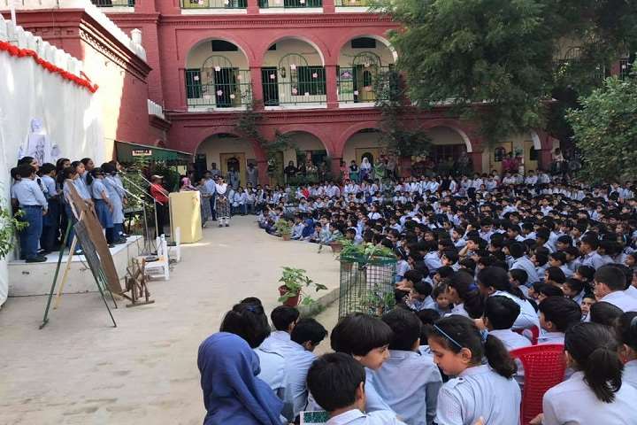 The Blossoms School-Gandhi jayanti assembly