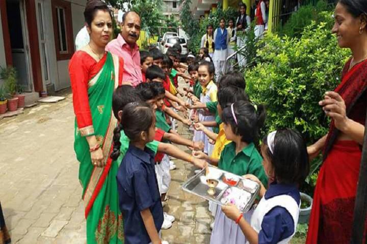 The City Montessori School-Activity
