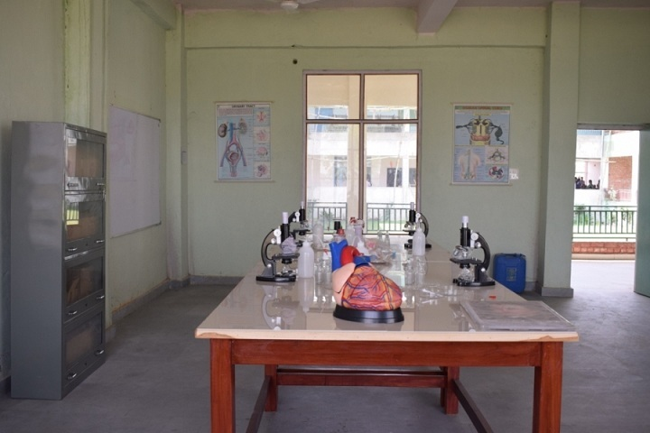 The Ganges World School-Biology lab