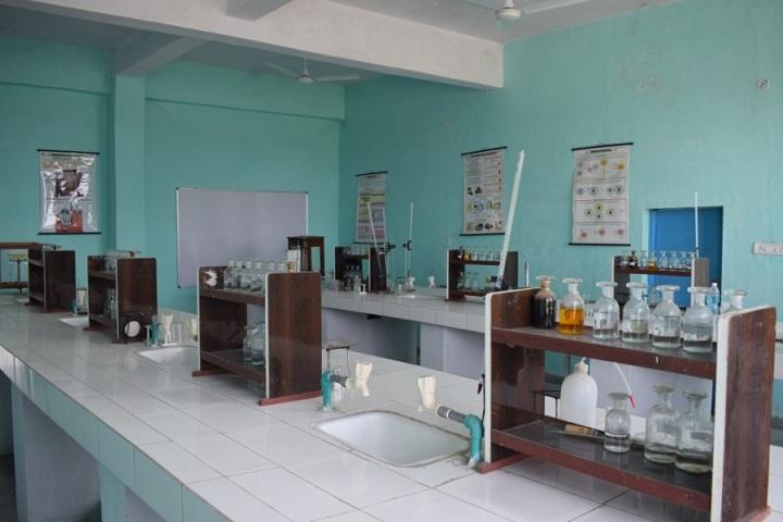 The Ganges World School-Chemistry lab