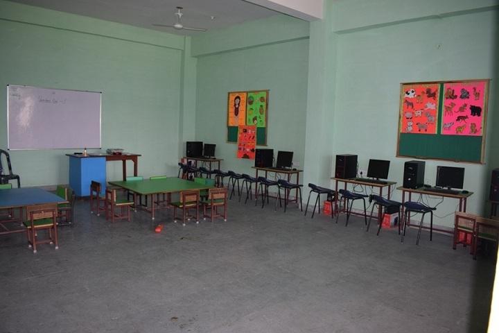 The Ganges World School-Computer lab