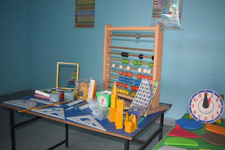 The Ganges World School-Maths lab