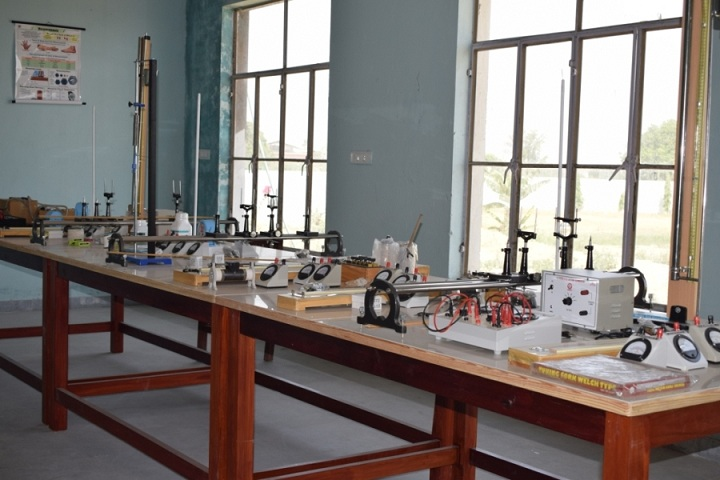 The Ganges World School-Physics lab