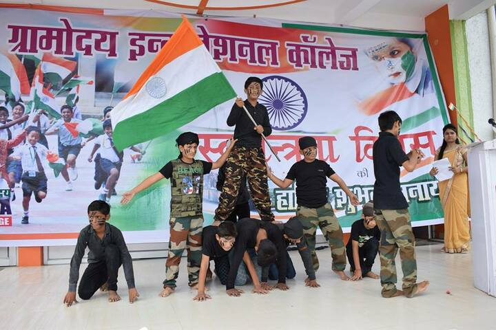 The Gramodaya International College-Republic Day
