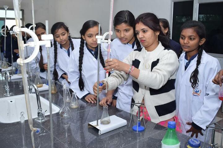 The Gramodaya International College-Science Lab