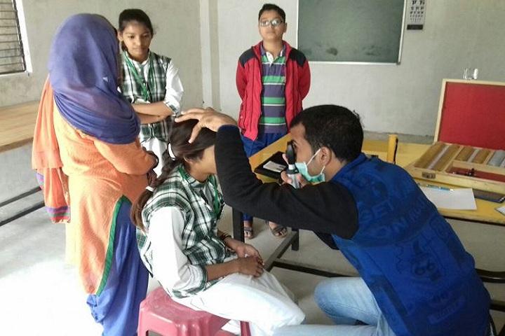 The Green International School-Health Checkup