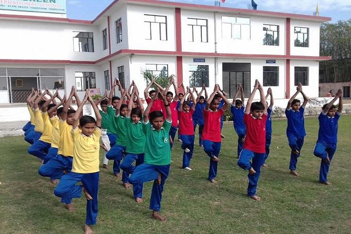 The Green International School-Yoga