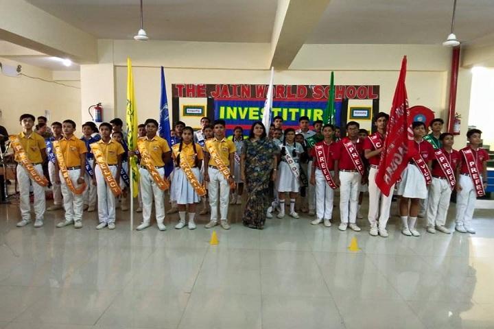 The Jain World School-Investiture Ceremony