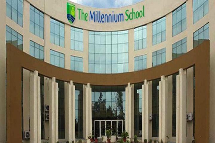 The Millennium School-Campus view